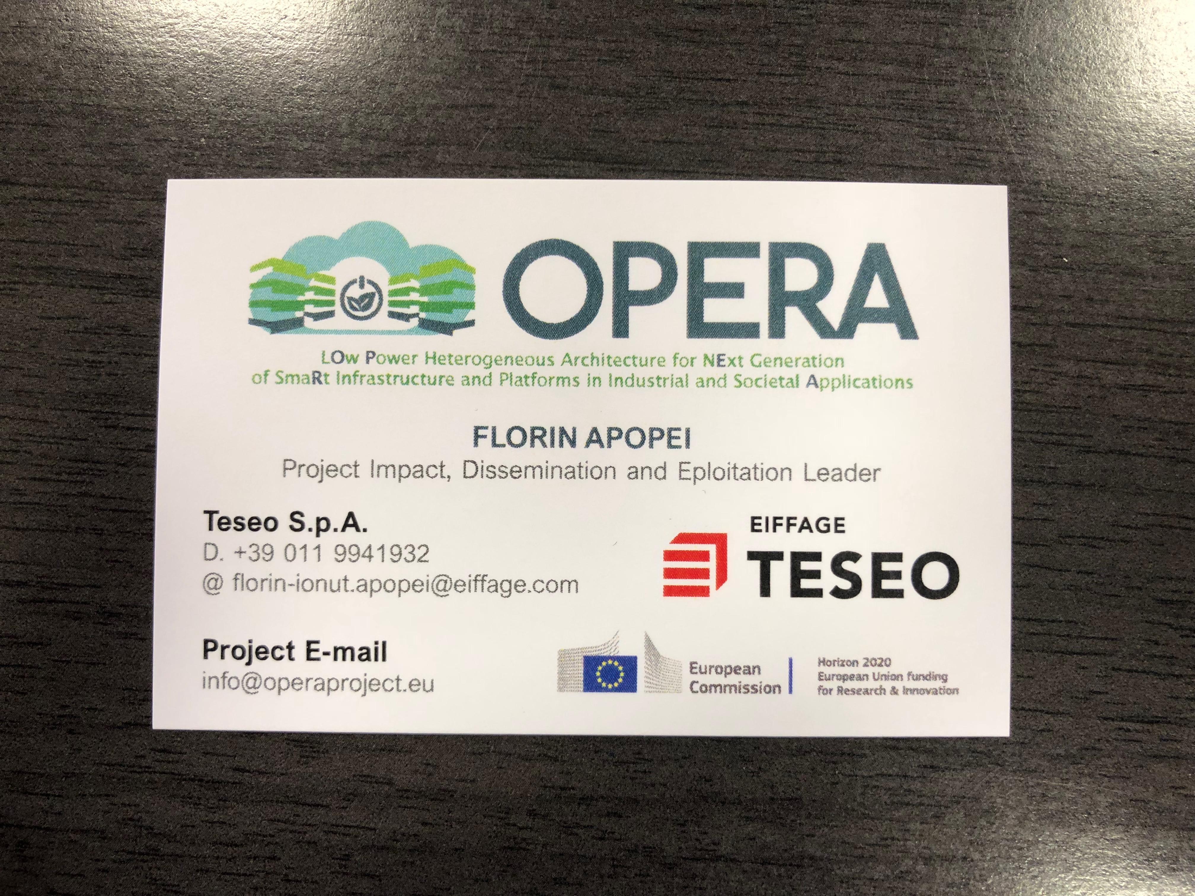 OPERA Card